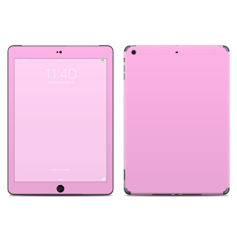 Solid State Pink iPad Air Skin