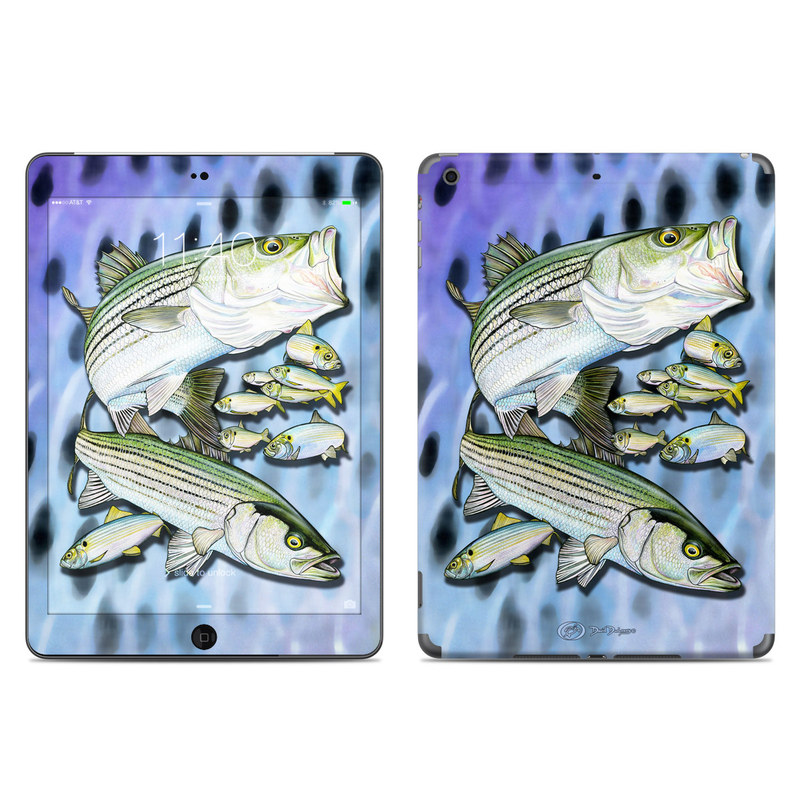 Striped Bass iPad Air Skin