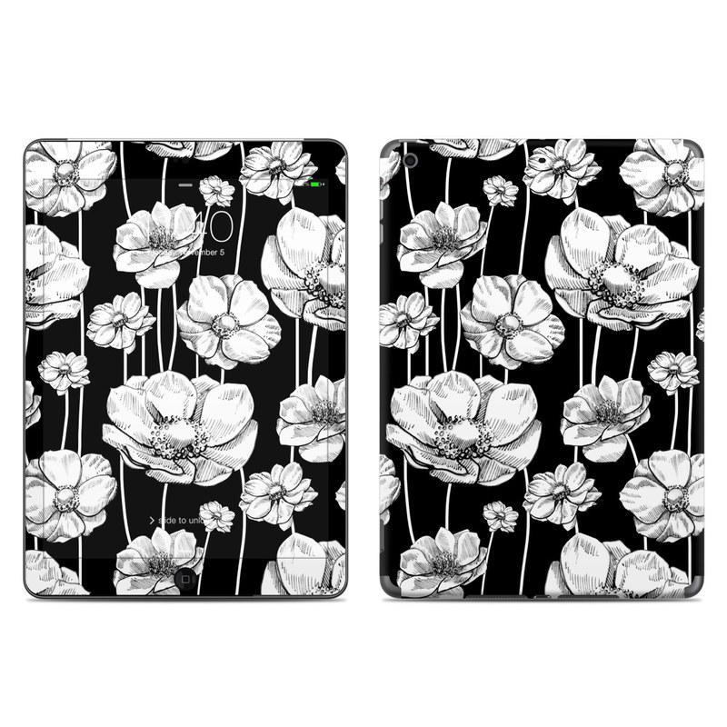 Striped Blooms iPad Air Skin