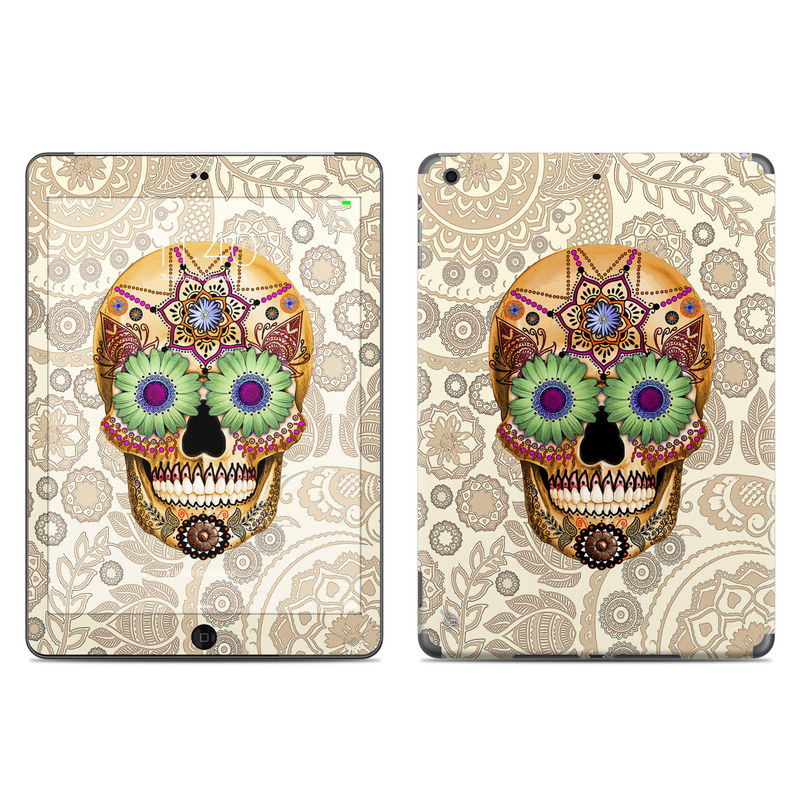 Sugar Skull Bone iPad Air Skin