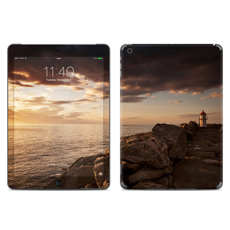 Sunset Beacon iPad Air Skin