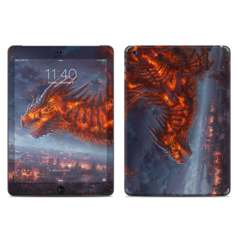 Terror of the Night iPad Air Skin