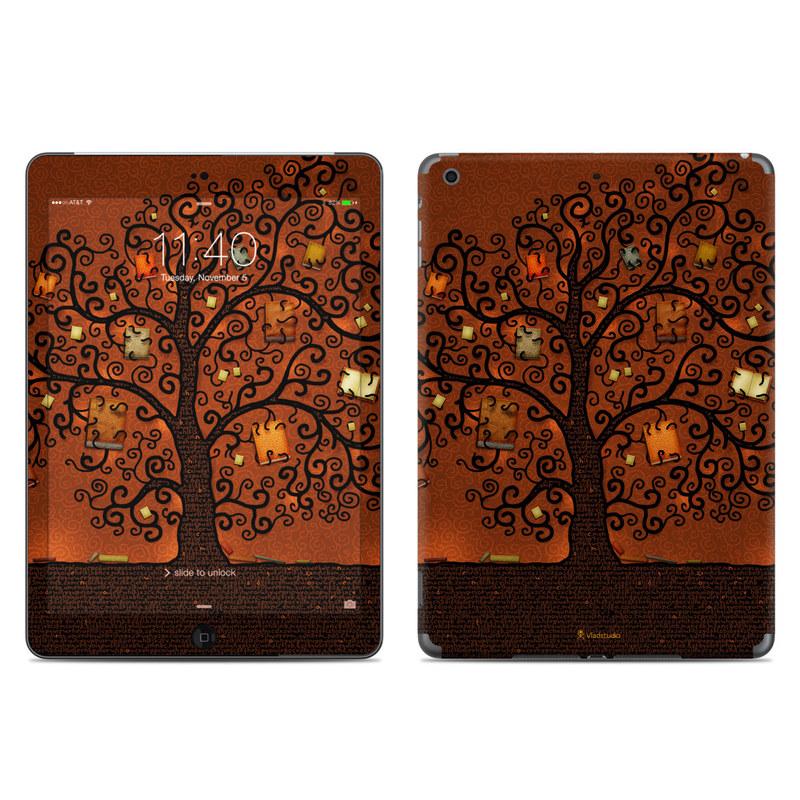 Tree Of Books iPad Air Skin