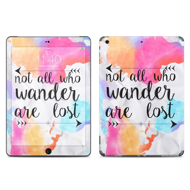 Wander iPad Air Skin