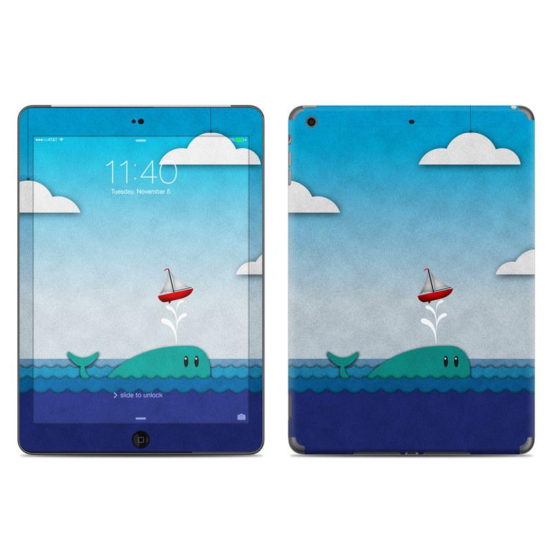 Whale Sail iPad Air Skin