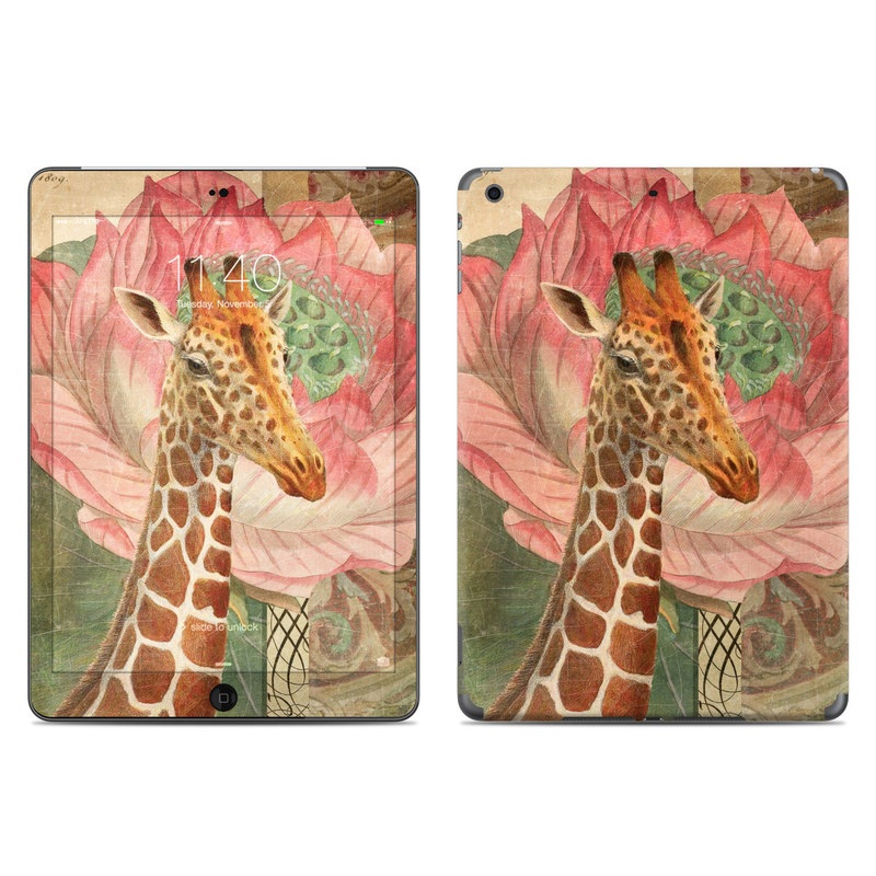 Whimsical Giraffe iPad Air Skin