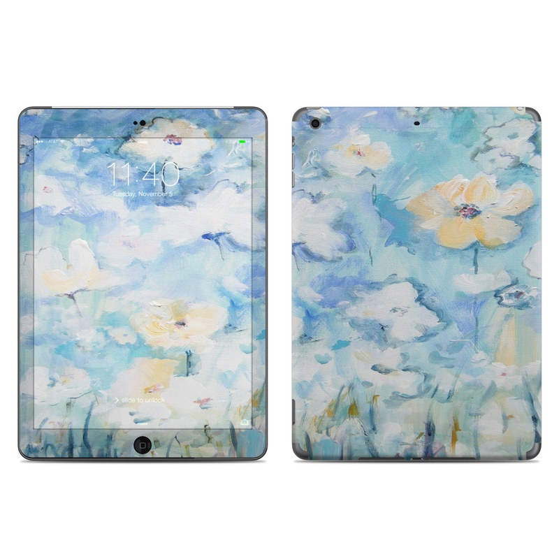 White & Blue iPad Air Skin