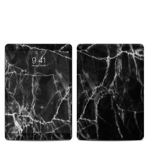 Black Marble iPad Air 3 Skin