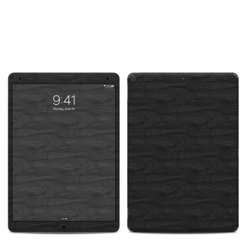 Black Woodgrain iPad Air 3 Skin
