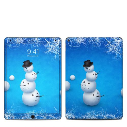 Merry Snowman iPad Air 3 Skin
