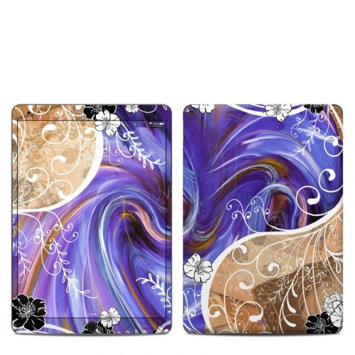 Purple Waves iPad Air 3 Skin