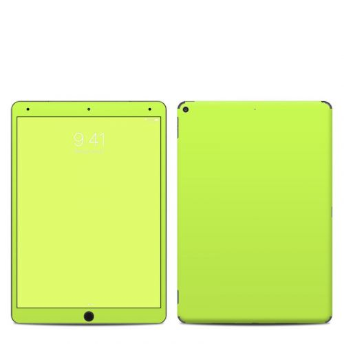 Solid State Lime iPad Air 3 Skin