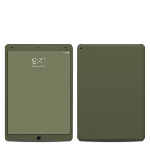 Solid State Olive Drab iPad Air 3 Skin