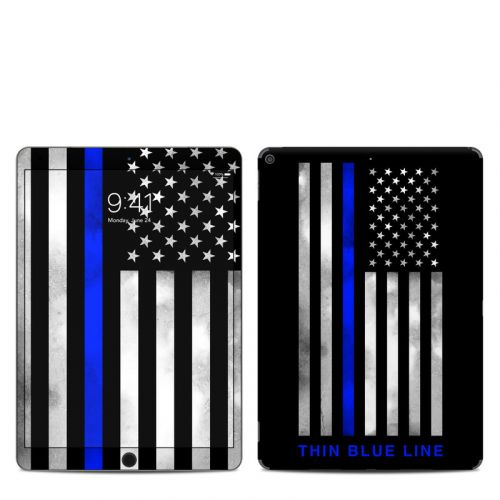 Thin Blue Line iPad Air 3 Skin