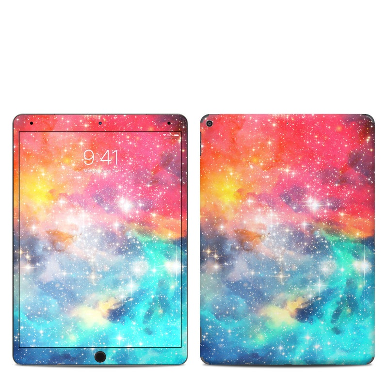 iPad Air 3 Skin design of Nebula, Sky, Astronomical object, Outer space, Atmosphere, Universe, Space, Galaxy, Celestial event, Star with white, black, red, orange, yellow, blue colors