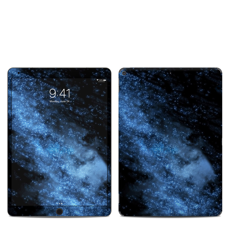 iPad Air 3 Skin design of Sky, Atmosphere, Black, Blue, Outer space, Atmospheric phenomenon, Astronomical object, Darkness, Universe, Space with black, blue colors