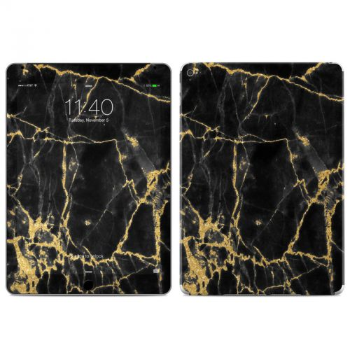Black Gold Marble iPad Air 2 Skin