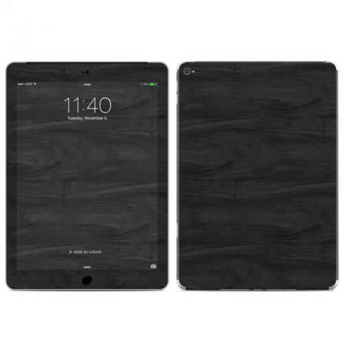 Black Woodgrain iPad Air 2 Skin