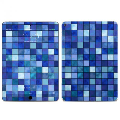 Blue Mosaic iPad Air 2 Skin