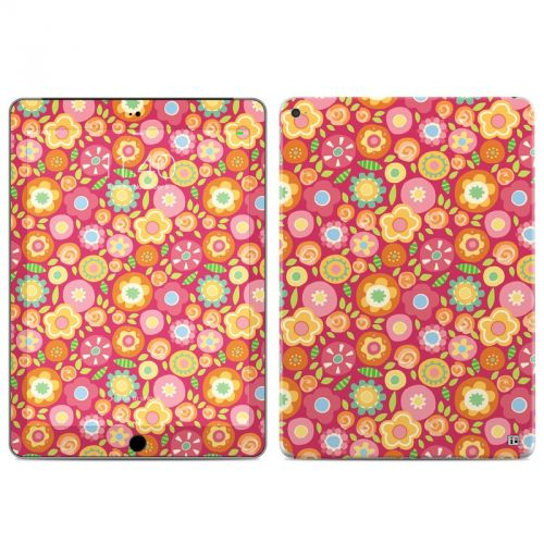Flowers Squished iPad Air 2 Skin