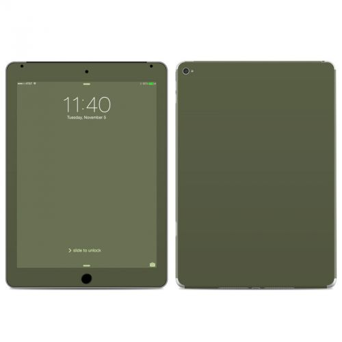 Solid State Olive Drab iPad Air 2 Skin
