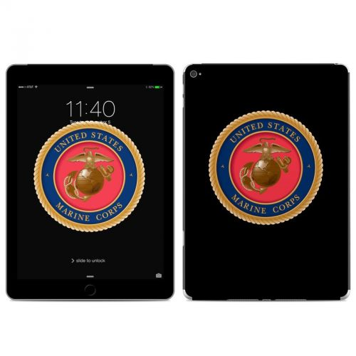 USMC Black iPad Air 2 Skin