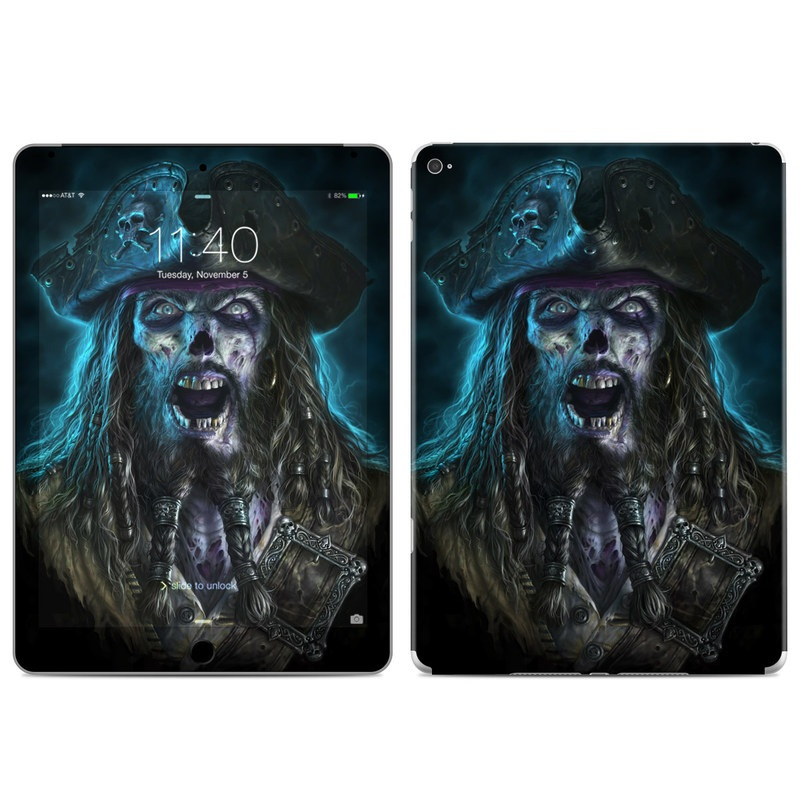 Captain Grimbeard iPad Air 2 Skin