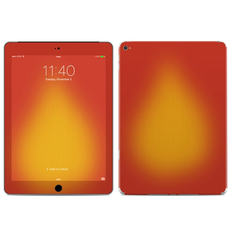 Cherry Sunburst iPad Air 2 Skin