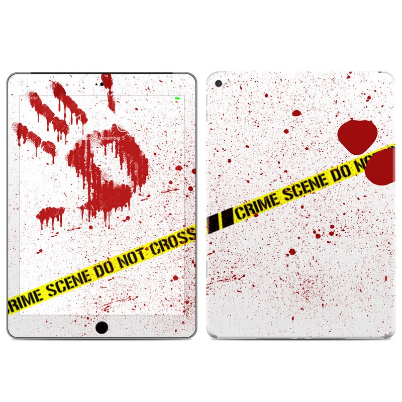 Crime Scene Revisited iPad Air 2 Skin