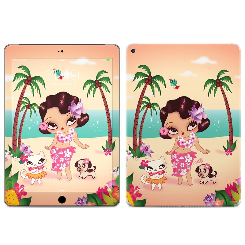 Hula Lulu iPad Air 2 Skin