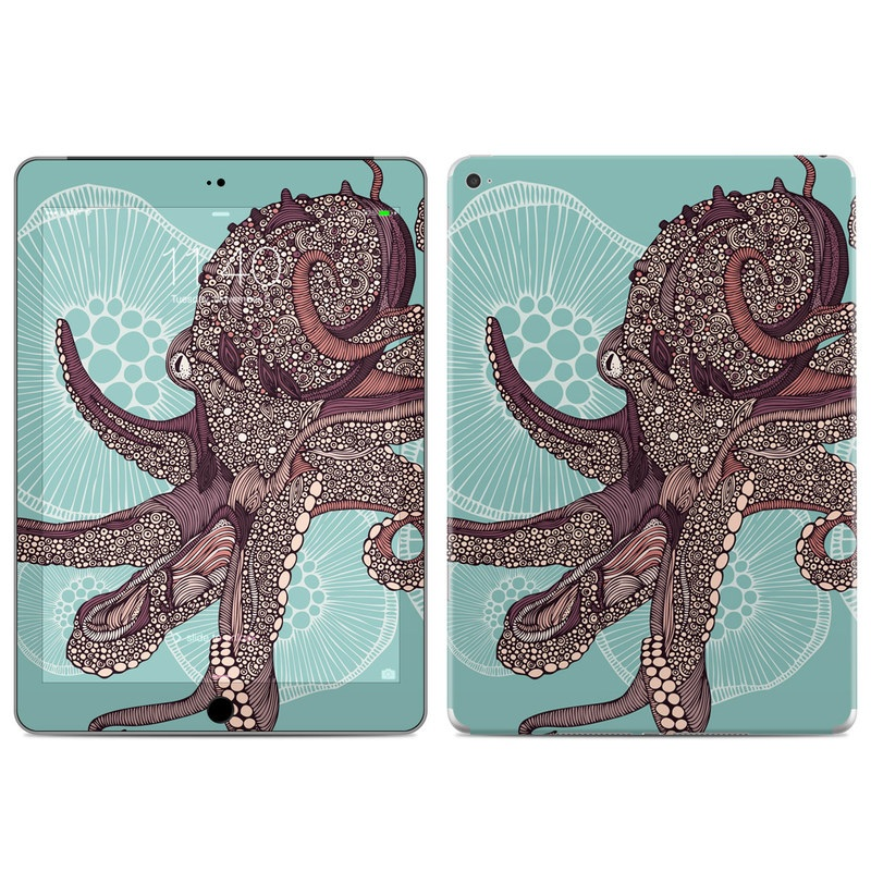 Octopus Bloom iPad Air 2 Skin