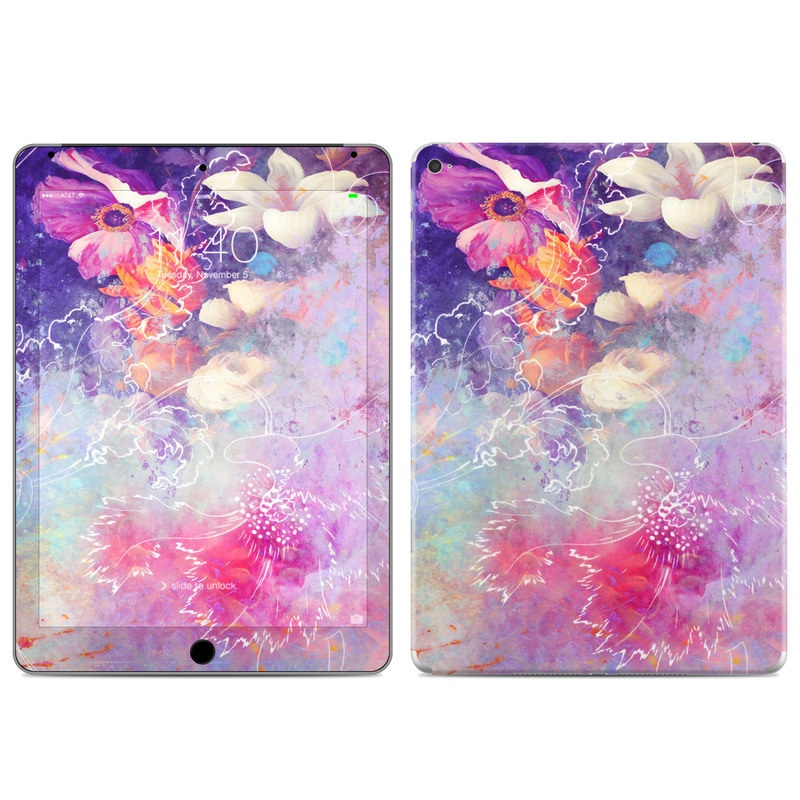 Sketch Flowers Lily iPad Air 2 Skin