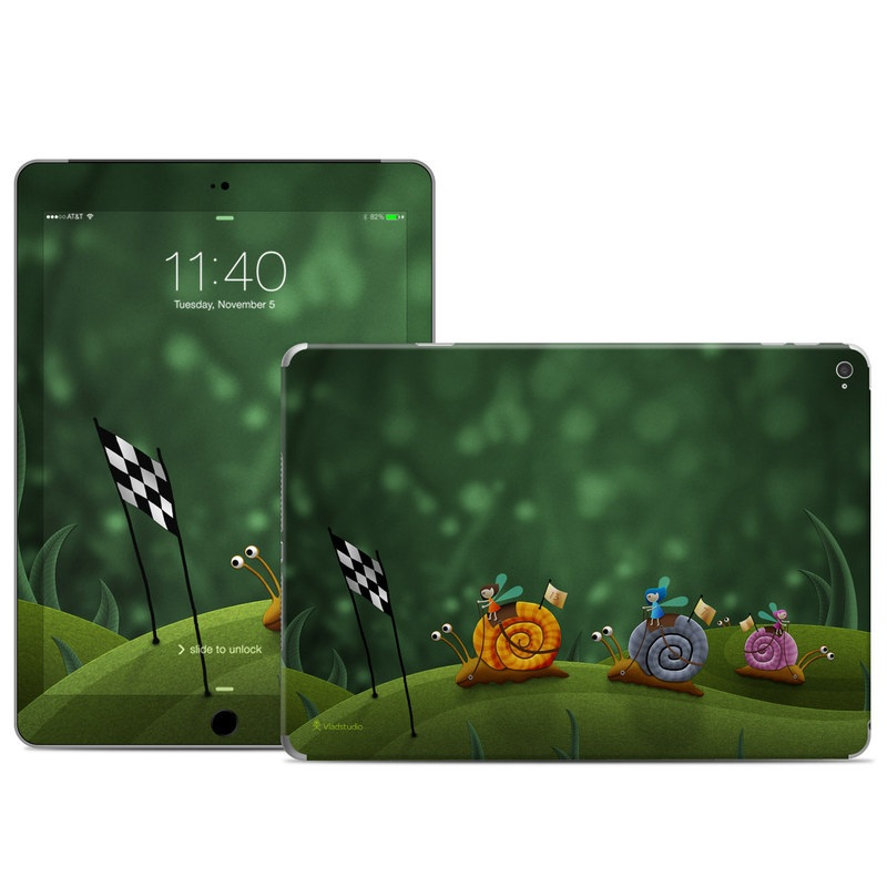 Snail Race iPad Air 2 Skin