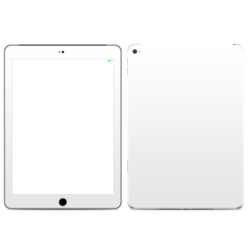 iPad Air 2 Skin design of White, Black, Line with white colors