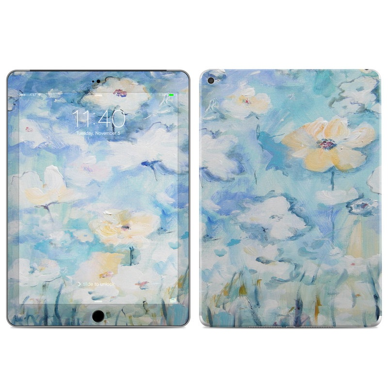 White & Blue iPad Air 2 Skin