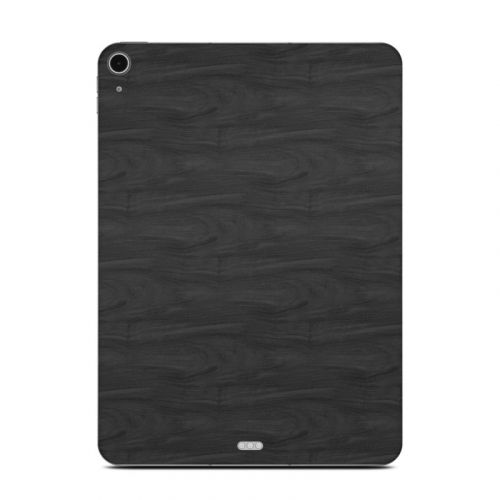 Black Woodgrain iPad Air Skin