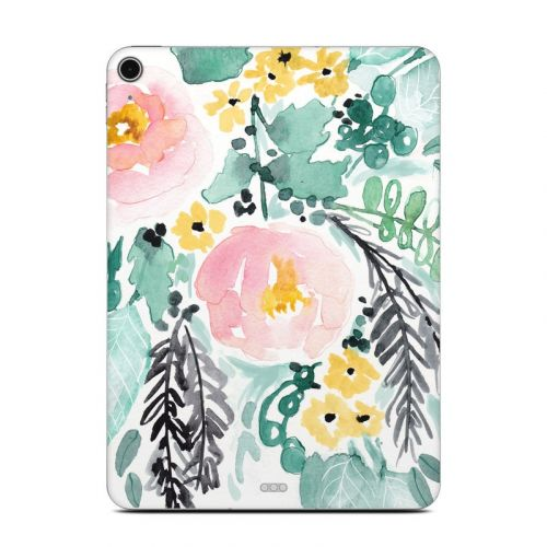 Blushed Flowers iPad Air Skin