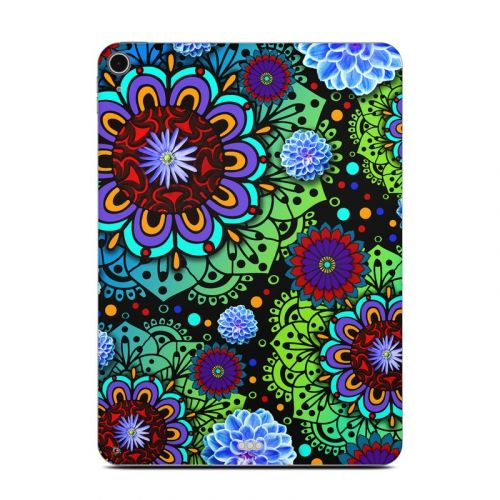 Funky Floratopia iPad Air Skin