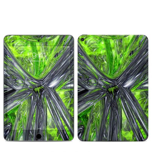 Emerald Abstract iPad mini 5 Skin