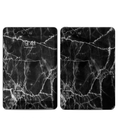 Black Marble iPad mini 5 Skin