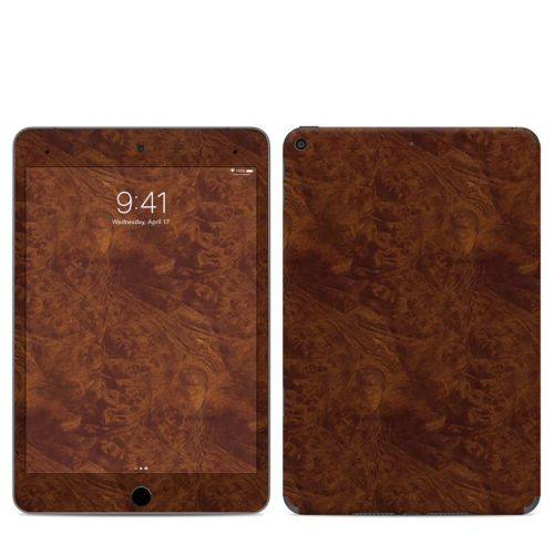 Dark Burlwood iPad mini 5 Skin