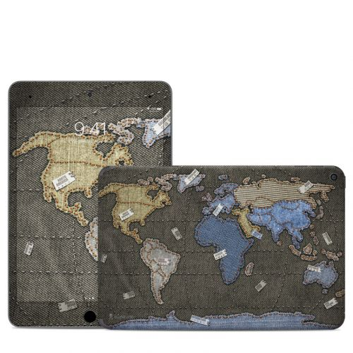 Jean Map iPad mini Skin