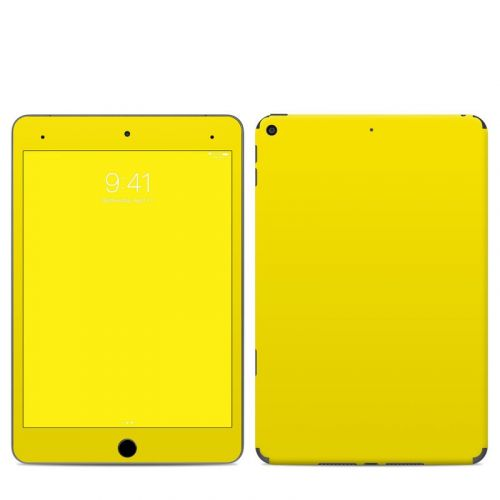 Solid State Yellow iPad mini 5 Skin