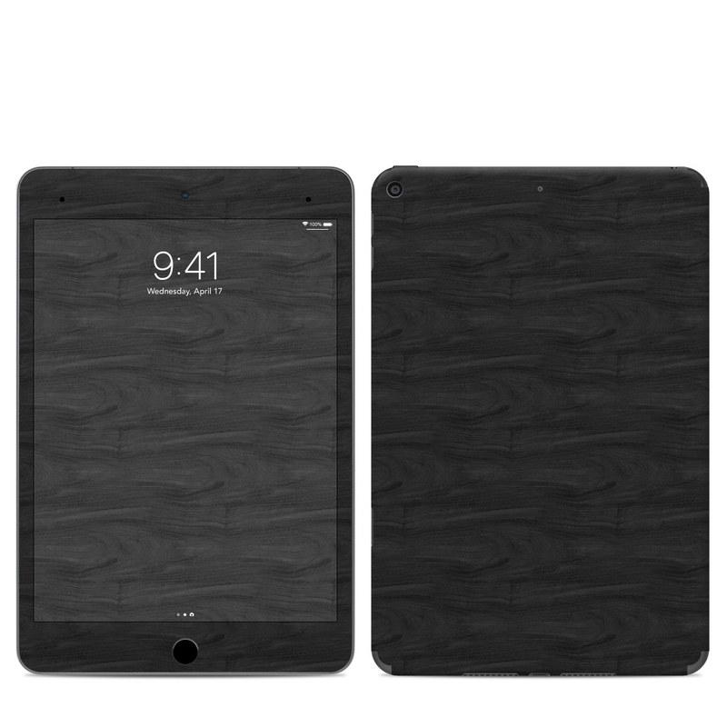 iPad mini Skin design of Black, Brown, Wood, Grey, Flooring, Floor, Laminate flooring, Wood flooring with black colors