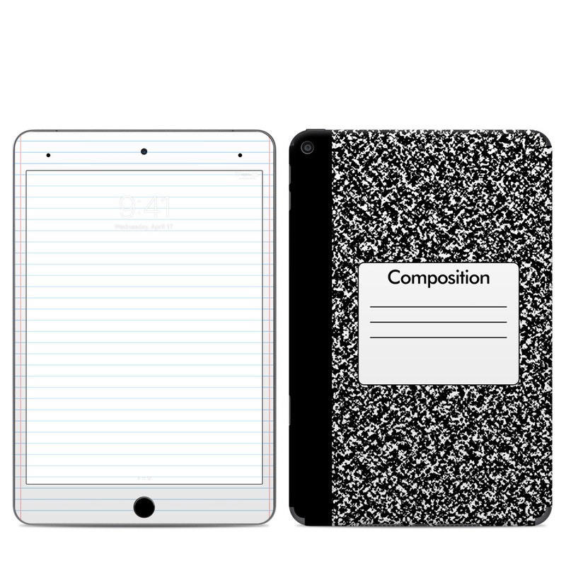 iPad mini Skin design of Text, Font, Line, Pattern, Black-and-white, Illustration with black, gray, white colors