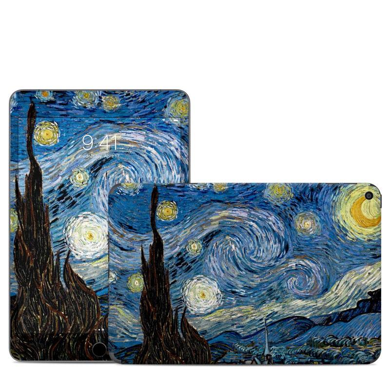 iPad mini Skin design of Painting, Purple, Art, Tree, Illustration, Organism, Watercolor paint, Space, Modern art, Plant with gray, black, blue, green colors