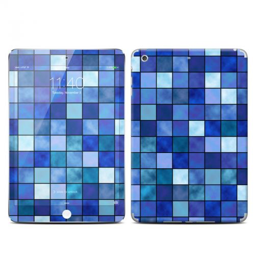 Blue Mosaic iPad mini 3 Skin