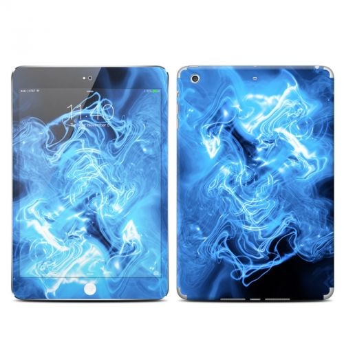 Blue Quantum Waves iPad mini 3 Skin