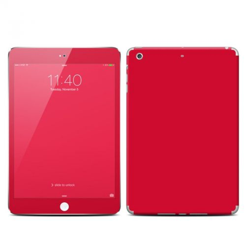 Solid State Red iPad mini 3 Skin