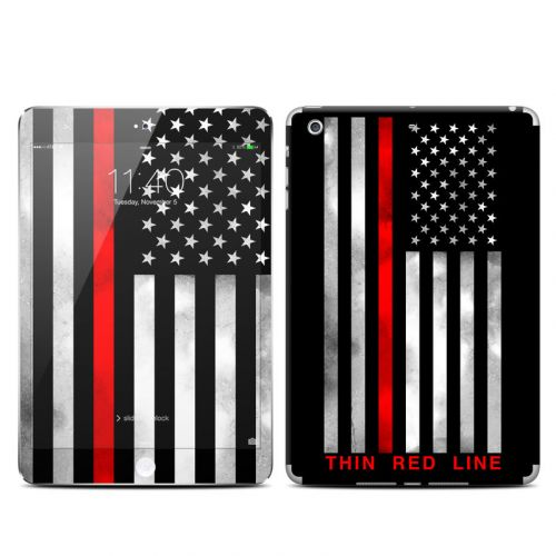 Thin Red Line iPad mini 3 Skin
